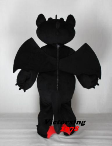 Toothless How to Train Your Dragon Mascot Costume Free Shipping