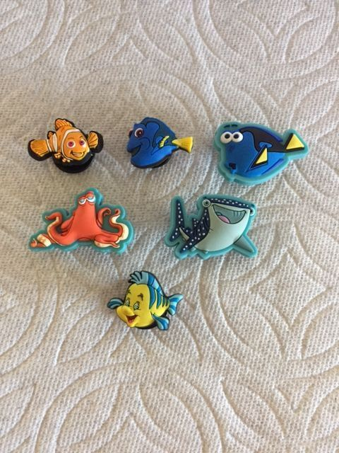 Clog Charm button Plug Accessories Shoes Bracelet Wristbands Finding Dory