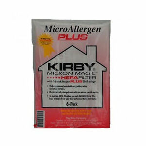 Details About Kirby Vacuum Bags Micron Magic Micro Allergen Plus Hepa Filter Bag 204814