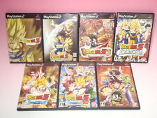 Used PS2 Lot 7Games Dragon Ball Z 1 2 3 Sparking Neo Infinite Super from Japan