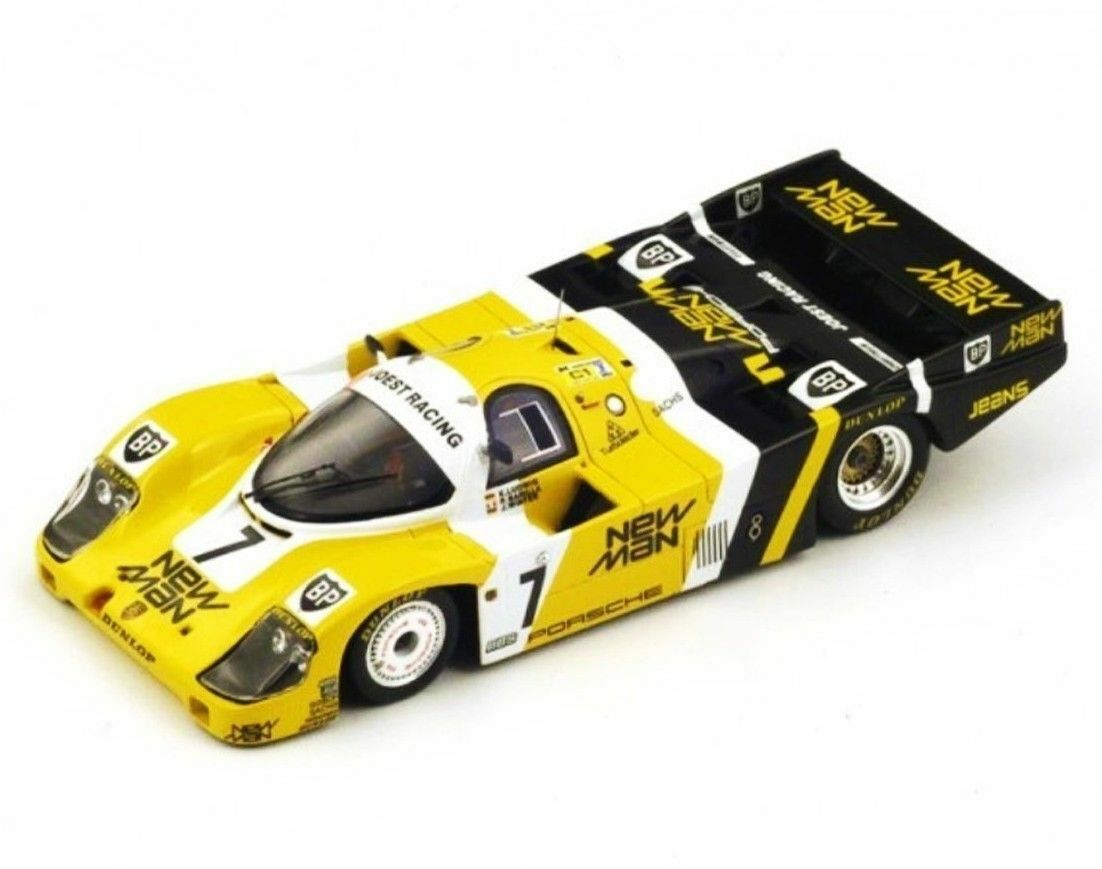 Porsche 956 n°7 Winner Le Mans1985 Ludwig Barilla 43LM85 Spark 1 43 New in a box