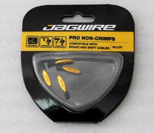 Jagwire-zugendhulsen-non-Grip-Gold-cha069-n1-innenzug-endhulsen-nuevo