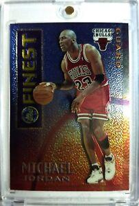 1995-96-Topps-Mystery-Finest-Borderless-Michael-Jordan-M1-Chicago-Bulls-Rare