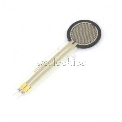 """FSR402 0.5/"""" Sensing Diameter Force Sensitive Resistor 100g-10Kg Pressure Sensor"""