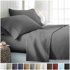 Egyptian Comfort Hotel Quality 4 Piece Deep Pocket Bed Sheet Set
