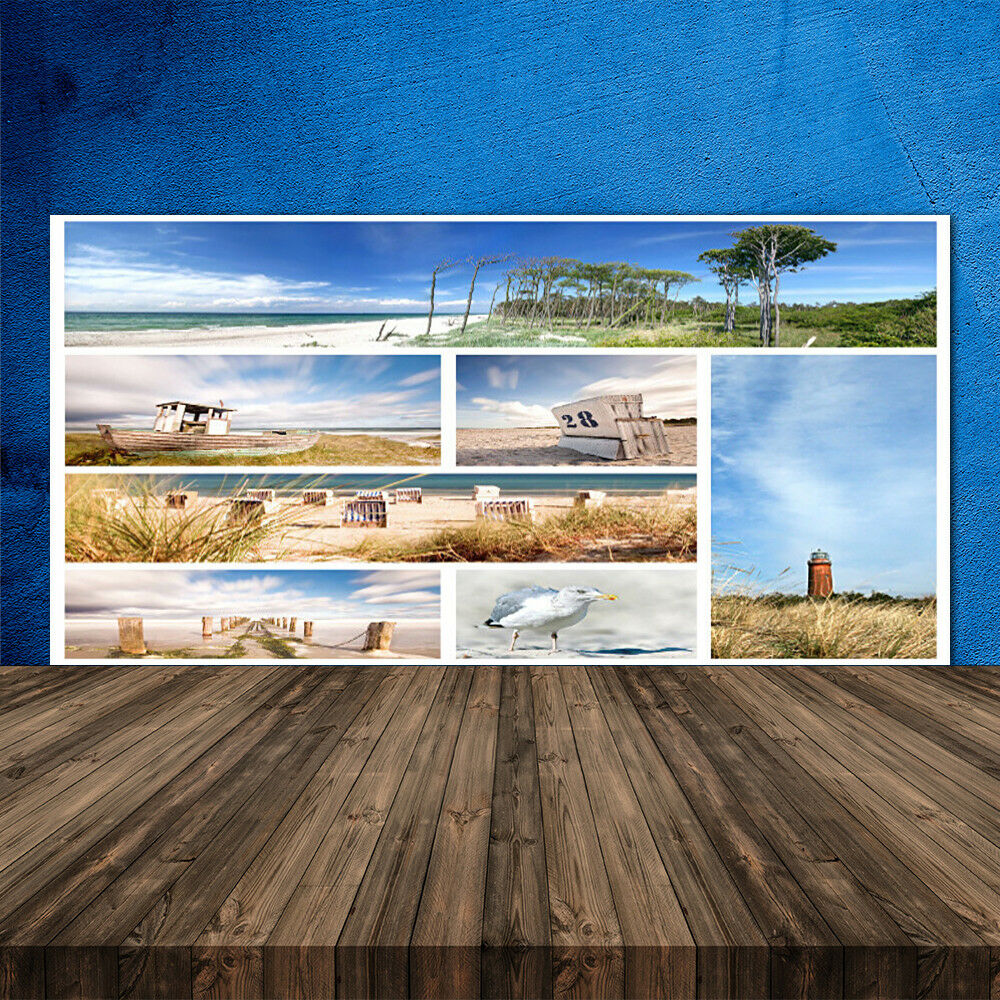 Crédence de cuisine en verre Panneau 120x60 Paysage Paysage Paysage Mer d9021b
