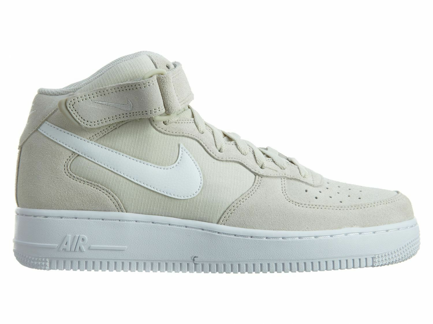 Nike Air Force 1 Mid 07 Mens 315123-034 Light Bone White Shoes Sneakers Size 9