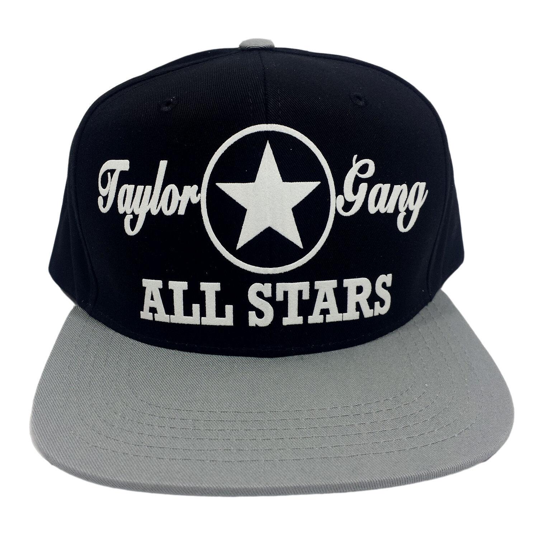 3399abf57 TAYLOR GANG ALL STARS Flock Snapback Hat Cap