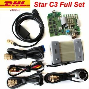 only Seven Red Cables Without Hdd Mutliplexer Best Red Star C3 16pinobd Ii Cable 4pin 38 Pin Rs232 To Rs485 Cable 14pin Car Repair Tools Car Diagnostic Cables & Connectors
