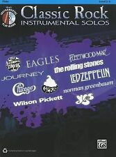 Classic Rock Instrumental Solos: Flute (Book & CD), Staff, Alfred Publishing, Ne