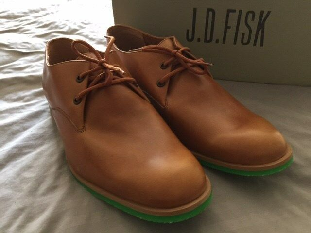 J.D. FISK MENS SHOES SIZE 10.5