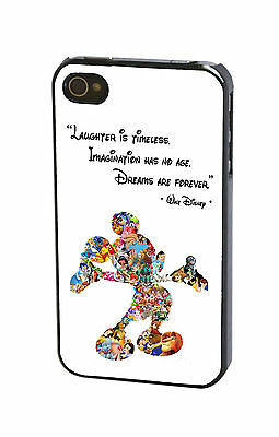 Walt Disney Quote Mickey Mouse Phone Case Cover for iPhone 7 Plus (5.5-inch)