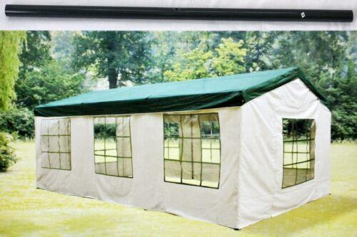 Pavillon Four Season Ersatzteile 3x6m Stangen Stange Metallrohr Gestänge Grün