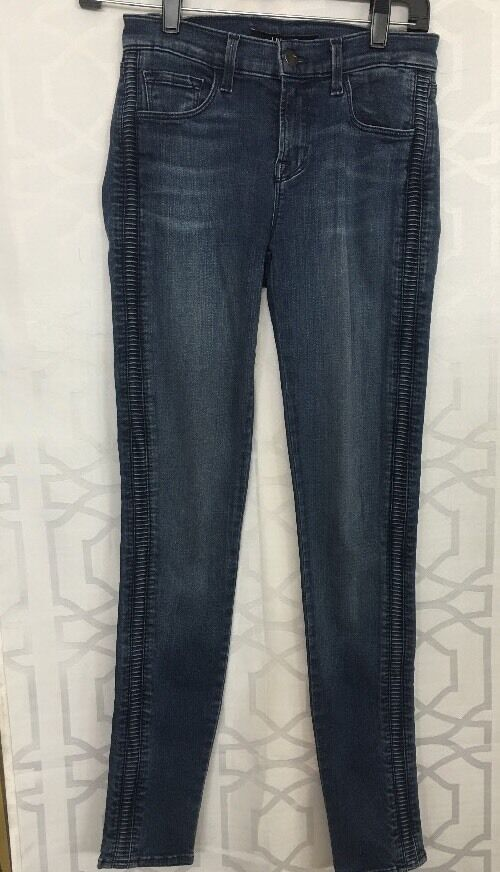 Jbrand Jean Liberty bluee Side Design Size 26