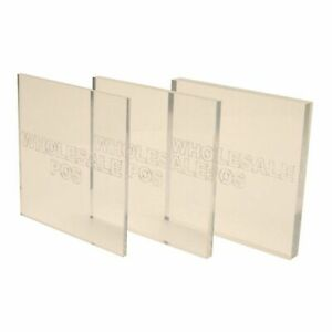 Clear Acrylic 4mm 5mm 6mm 8mm 10mm Perspex Plastic Sheet Cut To Size Panels Ebay