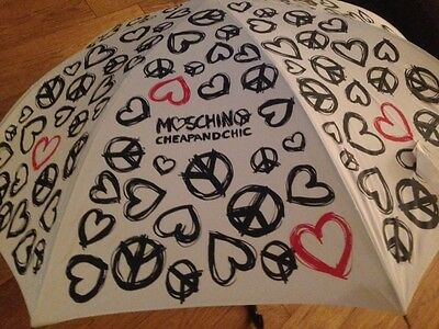 MOSCHINO Cheap & Chic Umbrella & Shoulder Carry New with Tags