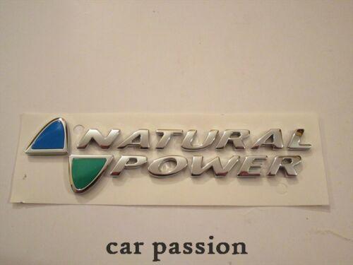 SCRITTA STEMMA NATURAL POWER FIAT MULTIPLA ORIGINALE POSTERIORE logo emblem SIGN