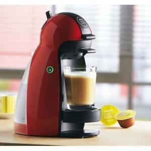 Detalles de Nescafe Dolce Gusto Piccolo Cafetera por Krups Rojo KP100610 ver título original