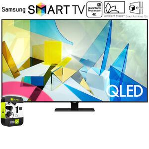 Samsung 75-inch Class Q80T QLED 4K UHD HDR Smart TV (2020) w/ Warranty Bundle