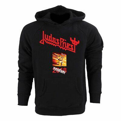 Judas Priest Screaming For Vengeance 1982 Mens Black Hoodie Hooded Sweatshirt