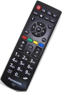 Genuine Panasonic RCA39126 TV Remote TX-24E302B TX-32E302B TX-39DW334 TX-43E302B