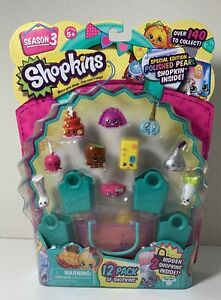 SHOPKINS Season 3 12 Pack - Brand New- You Get This Pack ...