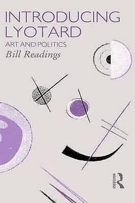1 of 1 - Introducing Lyotard (Critics of the Twentieth Century)-ExLibrary