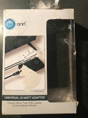 ONN Universal Power Adapter 45 Watt 19 5v 2 31amp Model Number Ona18ho0 for  sale online | eBay