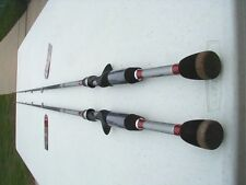 """2 QUANTUM KVD QX48 W) MICRO TRAC GUIDE SYSTEM 6'10"""" MED HVY CASTING RODS-NEW"""