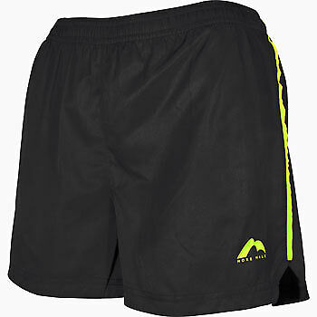 Praktisch More Mile Square-cut Womens Running Shorts - Black Komplette Artikelauswahl