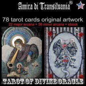 Tarot-card-cards-deck-set-minor-major-arcana-rare-vintage-oracle-kit-book-guide