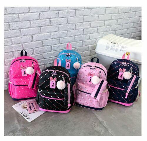 Printing School Bags Backpacks Fashions Kids Lovely For Children/'s Girls Quality