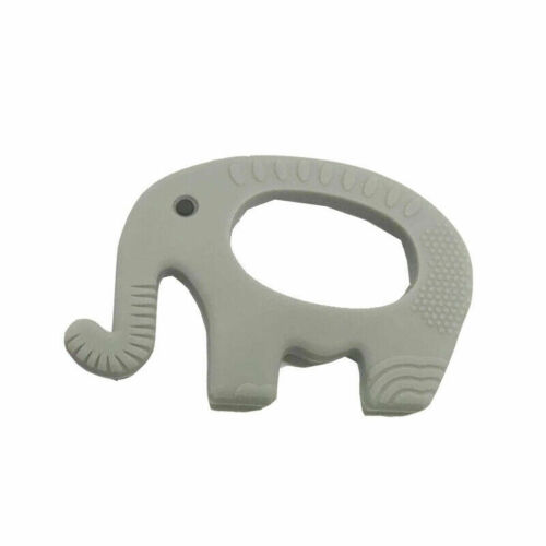 Silicone Elephant Baby Teether Mitts Soft Chew Molar Toy Teething Mitten Soother