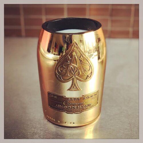 Veuillez Lire description Sacs Ace of Spades Armand de Brignac bouteille bougie