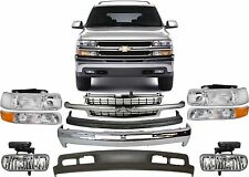 Replacement Front Bumper Combo For 2000-2006 Chevrolet Suburban/Tahoe New USA