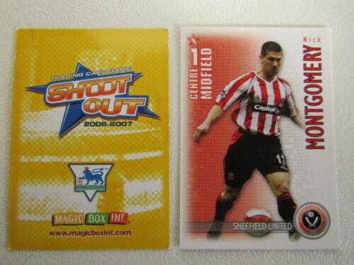 ef4 Dispara 2006 2007 Cartas Magic Box Fútbol Man UTD ~ Wigan variantes