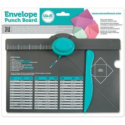 We R Memory Envelope Punch Board Make Your Own Envelopes