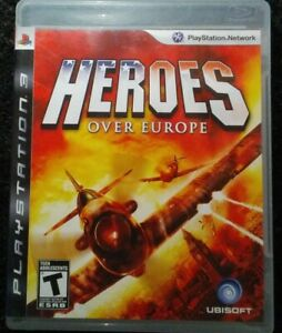 Heroes-Over-Europe-Ps3-Playstation-3-Complete-Tested-Rare