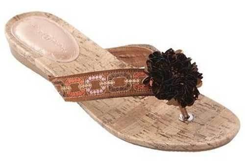 Skechers PROMENADE-STAR LIGHT Womens Taupe 38947/TPE Wedge Sandal