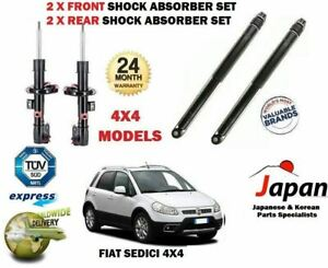 FOR FIAT SEDICI 1.6 1.9D 4x4 MODELS 2006-> 2 X FRONT SHOCK ABSORBER SHOCKER SET