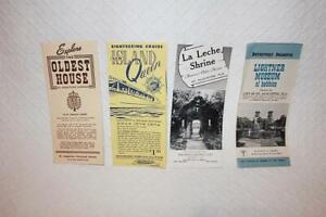 Lot 4 Sightseeing Brochures Island Queen Sightseeing Cruise-Others-St Augustine