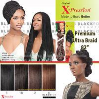 Premium X-pression Ultra Braid 82 Synthetic Braiding Hair Extension