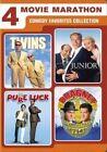 4 -movie Marathon Comedy Favorites DVD