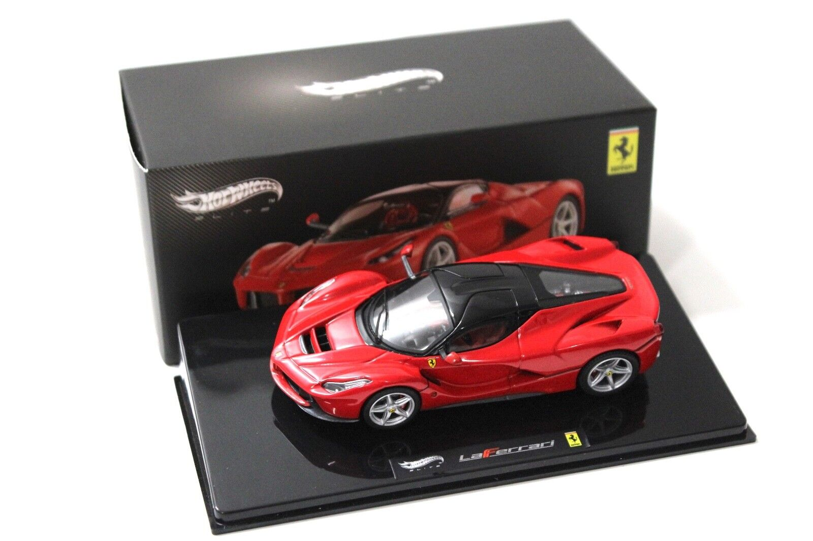 1 43 Hot Wheels Elite Ferrari LaFerrari red NEW NEW NEW bei PREMIUM-MODELCARS 2483da