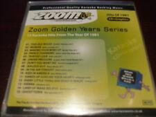 ZOOM GOLDEN YEARS 1981 KARAOKE DISC CDZM3081 CD+G 15 TRACKS