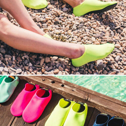 Men Women Barefoot Water Skin Shoes Aqua Socks Beach Swim Surf Yoga Exercise US