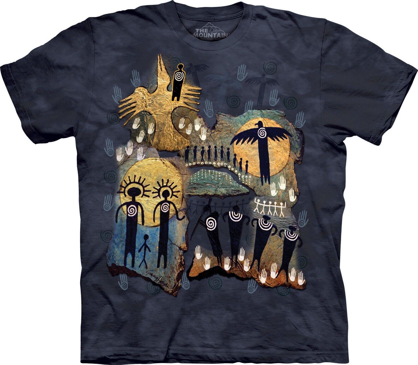 Mountain Mountain Mountain Erwachsen Flight of Shaman Indianer T Shirt   Billig ideal    Verschiedene Stile und Stile  020b4a