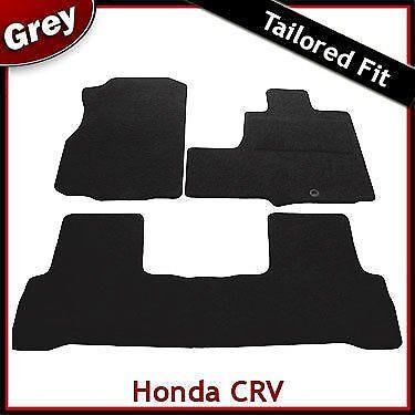 Honda CR-V Mk3 automatique pré-facelift 2006-2010 Tapis Tapis de voiture gris