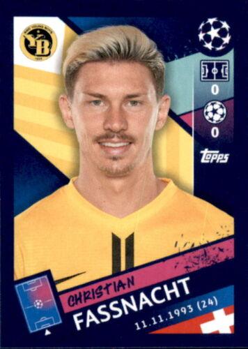 Sticker 554 Topps Champions League 18/19 Christian Fassnacht