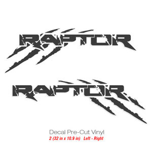 Ford Raptor Svt F150 Sport Truck Sticker Vinyl Decals Scratches